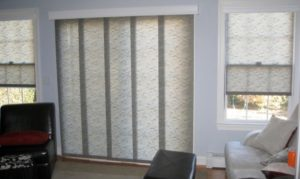Panel Track Vertical Blinds Window Covering